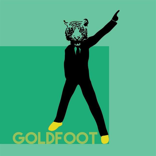 Goldfoot Dancer Logo